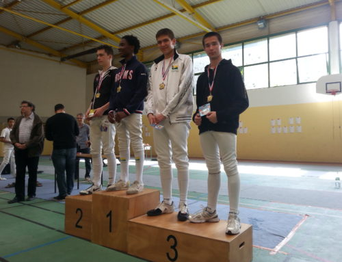Podium Gauthier aux masters