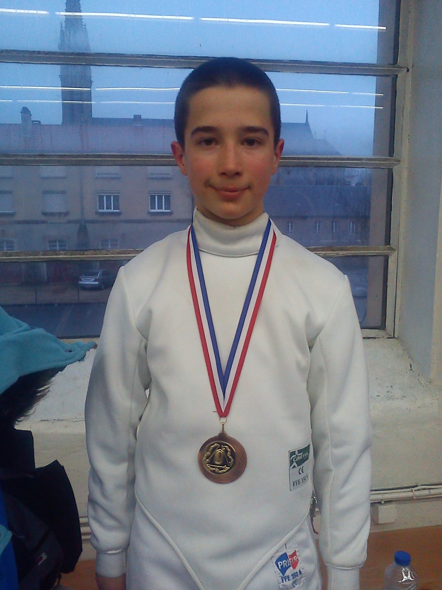 Gauthier médaillé
